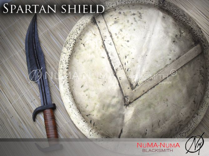 European weapon Spartan Shield 3 sdc14053